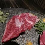 Let it Beef - 特選赤身肉盛り合わせ2名様盛り税抜4800円ハラミ