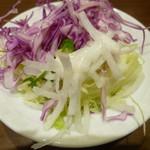 ビア&ワイン グリル銀座ライオン - サラダバーのサラダ