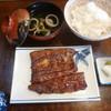 羽田うなぎ店 - 料理写真:'19/09/15 蒲焼定食・上(税込2,300円)