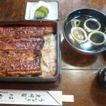 羽田うなぎ店 - '19/09/15 うな重・上(税込2,300円)