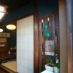 羽田うなぎ店 - '19/09/15 入口に瓢箪