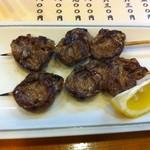 こし乃 - 串焼き(鶏ハツ)