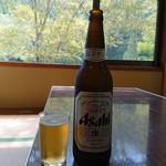 清流荘 - 瓶ビール(大)(600円)