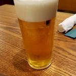グランディール - 生ビール。モルツ