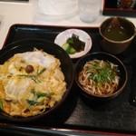 そば宏 - 山菜丼