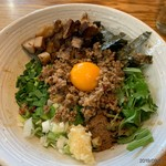 中華そば こころ家 - 料理写真:肉台湾まぜそば