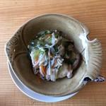 中国精進料理 凛林 - 揚げ姫鯛のキノコあんかけ