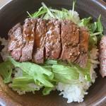115587364 - 土佐牛ステーキ丼