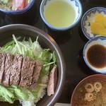 115587379 - 土佐牛ステーキ丼定食