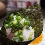 築地玉寿司 - ねぎさば巻