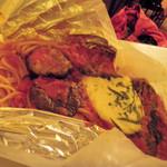 パスタ・カルタ・パコ - ナスとモッツァレラチーズ(恵庭の寺田ファームのモッツァレラ) ¥1,150