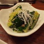 オンジェナ - 韓国風たたき胡瓜