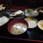 かずやん - カラスガレの塩焼き定食