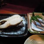 かずやん - カラスガレイの塩焼き定食
