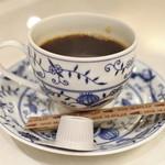 鉄板焼き ステーキ 湛山 - 珈琲
