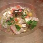 アテンポ - 本日の鮮魚のカルパッチョ