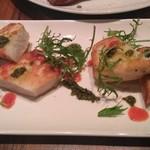 アテンポ - 魚介のムースのソテー