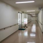 地下食堂 天輪 - 廊下です。