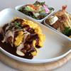 ロイヤルコーヒーショップ - 料理写真:オムライス&海老フライ・広島産牡蠣フライ 1480円
