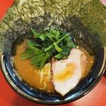 環2家 - ラーメン720円+のり100円