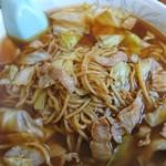 こばや食堂 - スープ入り焼きそば(大) 750円