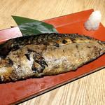 煌煌庵 - 文化さばの藁焼き  ¥780