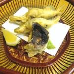板前料理いち川 - 北海道ワカサギの天ぷら