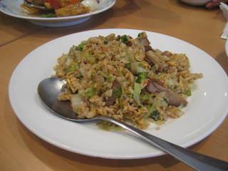 中国料理ドラゴン - 焼豚五目チャーハン