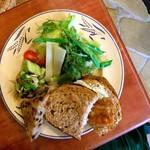 ル・シァレ - チキンのブルゼ(煮込み)サンドプレート