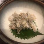 秋葉原漁港 快海 - カニ味噌カニの身和え