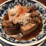 115608320 - ☆牛すじ煮込み豆腐