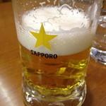 11561712 - ビール(サッポロ)だよ。