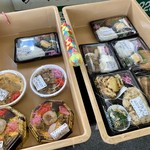 やり田 - 料理写真:お弁当(とんかつ,ハンバーグ,カキフライ,あさり,フライ)