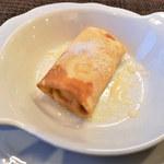115615138 - マスカルポーネチーズとゴルゴンゾーラチーズのクレープ包み焼き