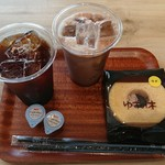 洋菓子工房&カフェ バウム工房 ゆずの木 - アイスコーヒー他