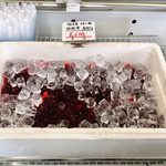 涸沼のしじみ楽市直売所 - 料理写真:冷蔵のしじみと、冷凍のしじみと両方販売しており、地方発送もしているようです。