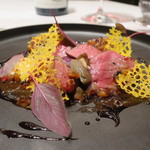 115617568 - 北海道産十勝牛ランプ肉のロースト オリエンタルソース