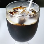 115619850 - アイスコーヒー510円 Aセットハーフトースト+ボイル+エッグ50円