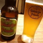 道産小麦のパスタ屋さん ミールラウンジ - 千歳ビール