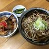 こんぴら - 料理写真:そば&ミニ豚丼セット