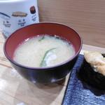 つきぢ神楽寿司 - お味噌汁