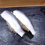 つきぢ神楽寿司 - 追加のこはだ