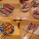 串焼とこころ 克 - おまかせ8本②