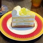 115636909 - メロンのショートケーキ