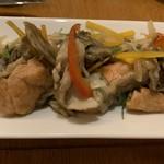 オルガニコ - 秋鮭と舞茸のエスカベッシュ