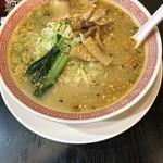 幸楽苑 - ごま味噌チャーシュー麺(640円)