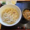 Omomukushokudou - 料理写真:かけセット(温)小