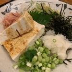 国分寺そば - お豆腐そば1,200円
