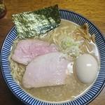 良温 - 良温そば・手もみ麺(塩・味たまトッピング)