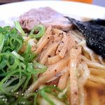 麺や 河野 - メンマは穂先メンマ